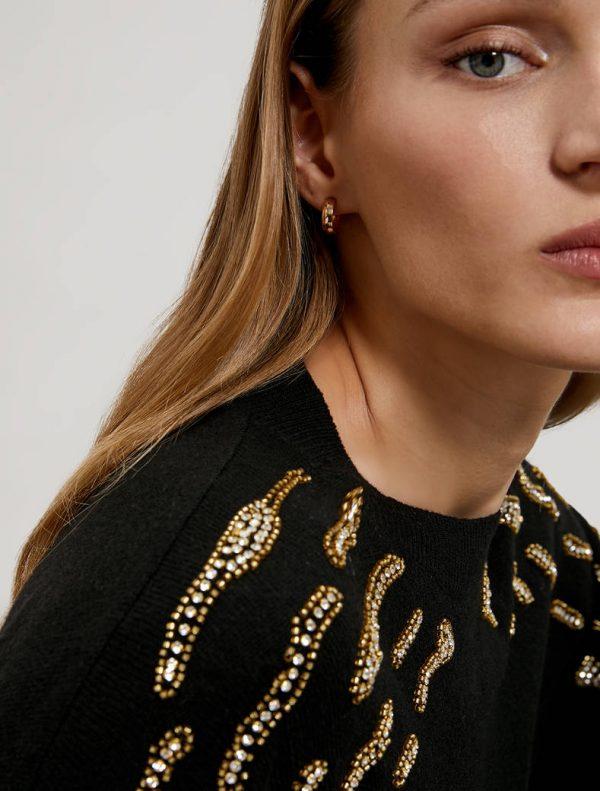 Pennyblack Maglia con ricami gioiello MACISTE