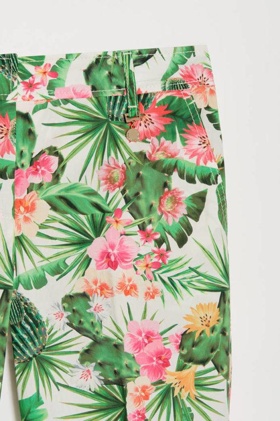 PENNYBLACK Pantaloni a fantasia tropicale ARTICOLO LEA