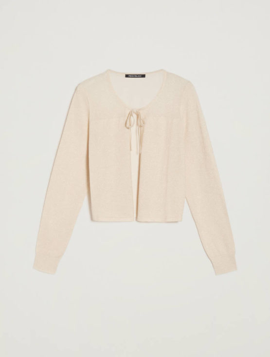 PENNYBLACK Cardigan in tricot lamé ARTICOLO OMNIBUS
