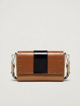 pennyblack bag Tracolla in vernice con borchie articolo secolare