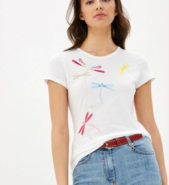 Pennyblack t-shirt con motivo libellula Articolo replica