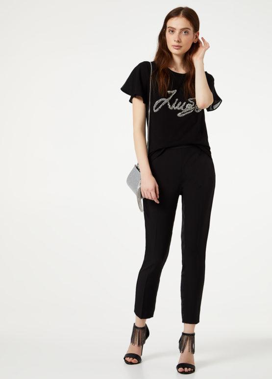 LIUJO T-Shirt Con Logo Gioiello ARTICOLO IA0067J5003