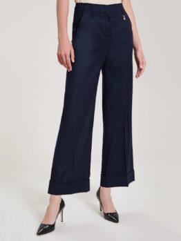 pennyblack Pantaloni ampi con risvolto articolo tutore