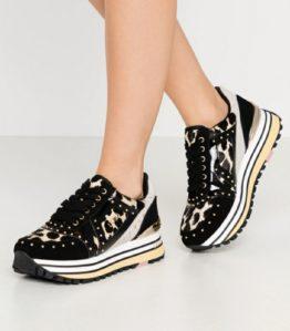 LIUJO Sneakers Platform realizzate in pelle scamosciata BF0077PX072